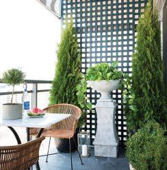 Condo balcony DIY